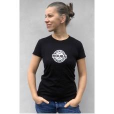 Triko dámské Houba 25 let černé