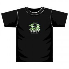 """Triko pánské """"Head2008"""" černé se zeleno–bílým potiskem"""
